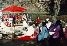 kyokusui-no-en en el Jardin Senganen