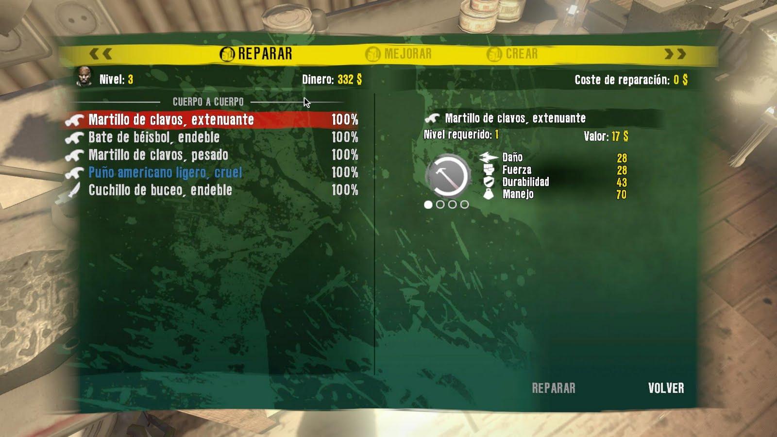 Dead Island Reset Skills Ps