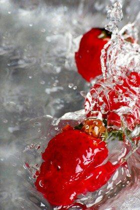 Owoce w wodzie :) 8