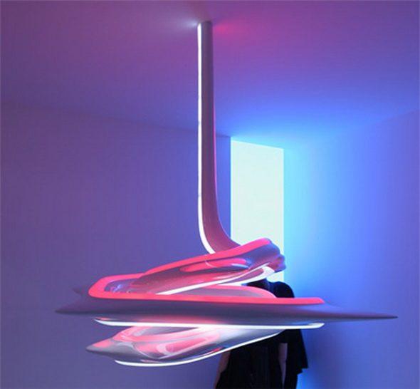 Wyjątkowe , szokujące , nowoczesne lampki 9