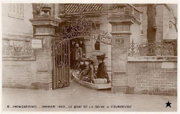 Wielka powódź w Paryżu 1910 23
