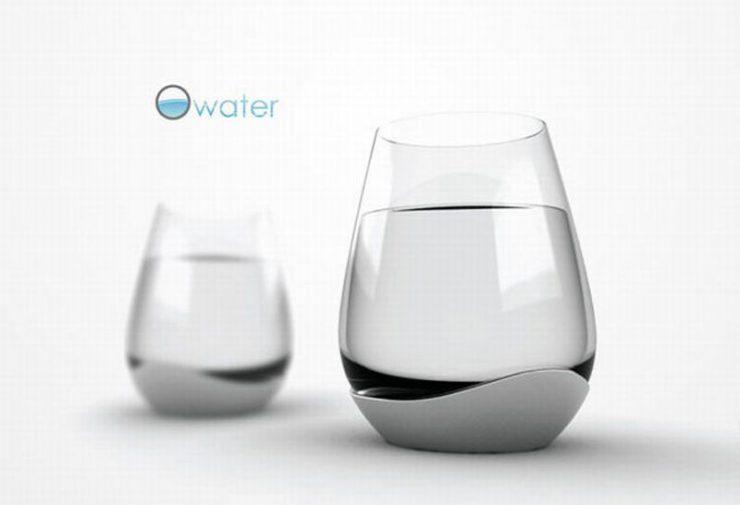 Oryginalne szklanki i kieliszki 10