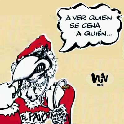 EL PAVO ASESINO!!!