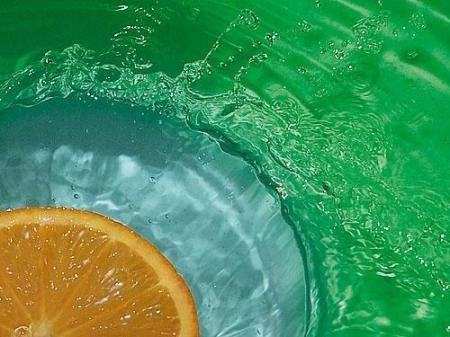 Owoce w wodzie :) 6