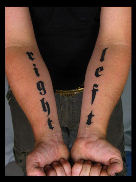 Tatuaże na rękach 3