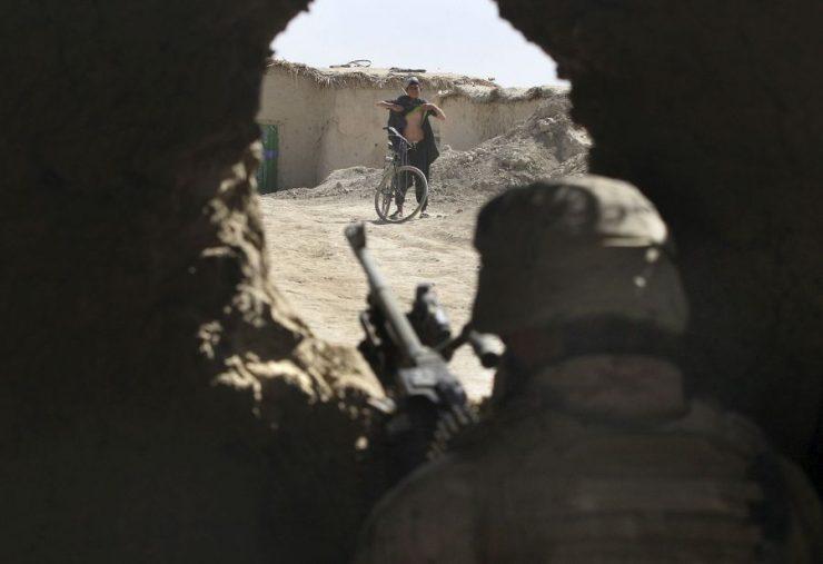 Zdjęcia z wojny w Afganistanie 82