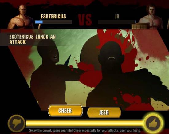 Spartacus Juego de Gladiadores en Facebook