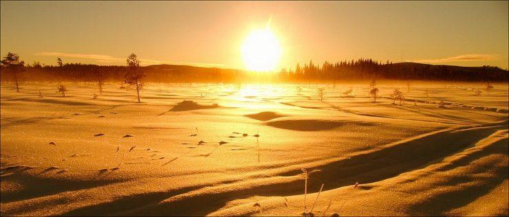 Zimowe krajobrazy 5