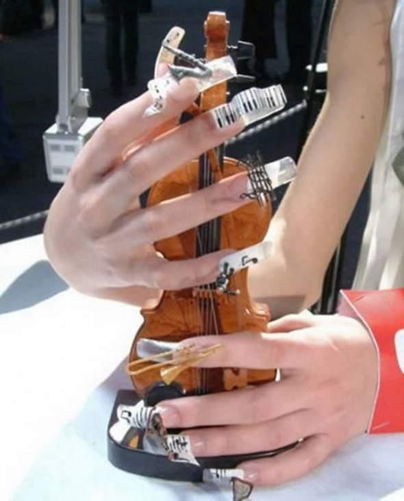 Ekstremalny manicure 7