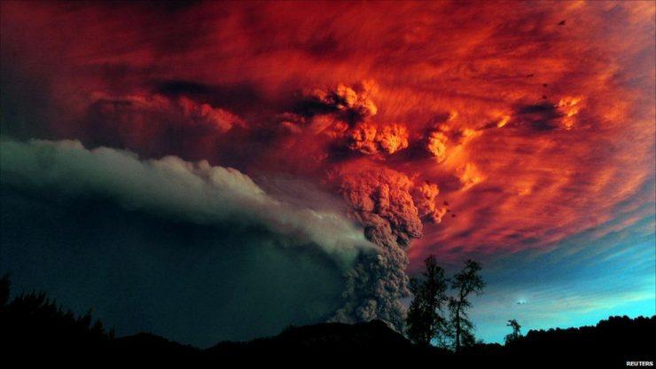 Erupcja wulkanu Puyehue 2